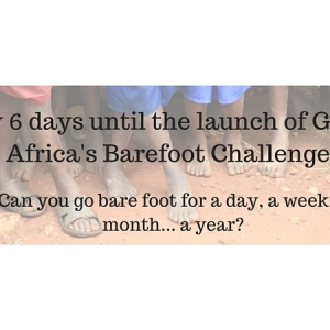 The barefoot countdown has begun!